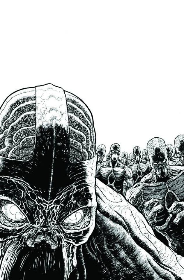 Green Lantern: New Guardians #16 (Black & White Cover)