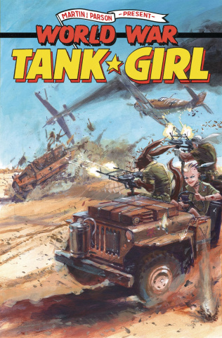 Tank Girl: World War Tank Girl #1 (Burns Cover)