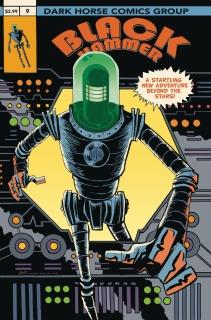 Black Hammer #9 (Lemire Cover)