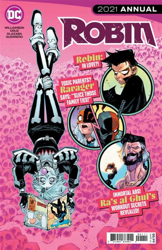 Robin 2021 Annual #1 (Jorge Corona Cover)