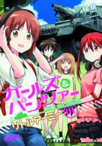 Girls Und Panzer Vol. 1: Little Army