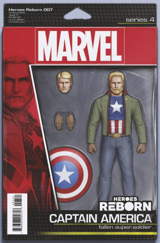Heroes Reborn #7 (Christopher Action Figure Cover)