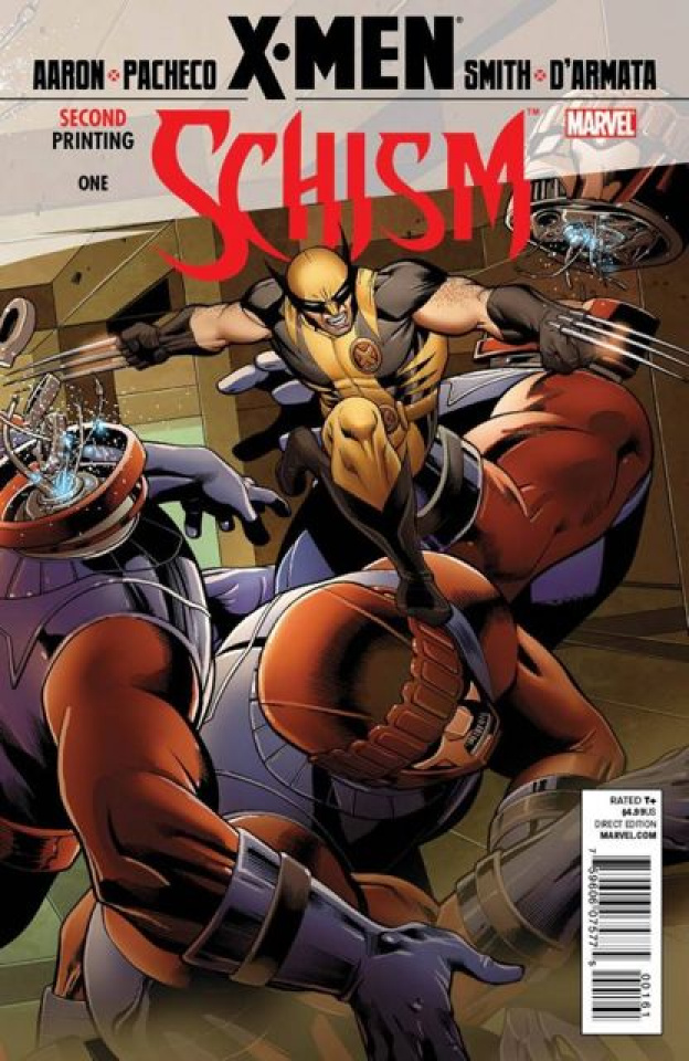 X-Men: Schism #1 (2nd Printing Wolverine Cover)