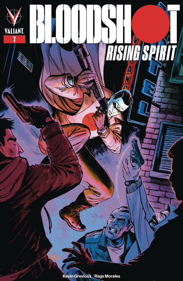 Bloodshot: Rising Spirit #7 (Fish Cover)