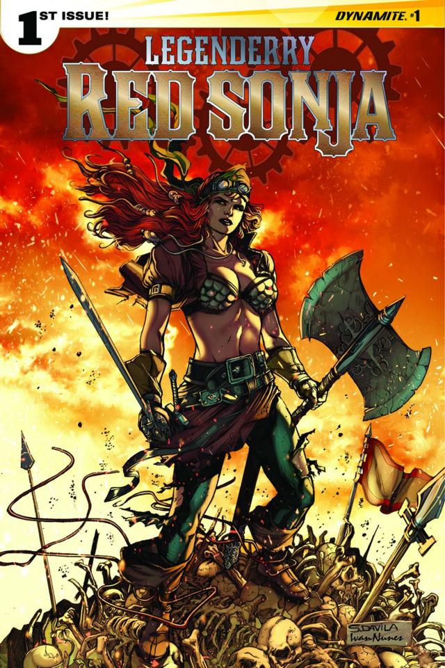 Legenderry: Red Sonja #1 (10 Copy Davila Cover)