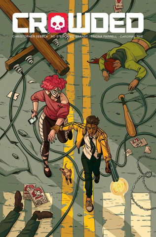 Crowded #6 (Franquiz Cover)