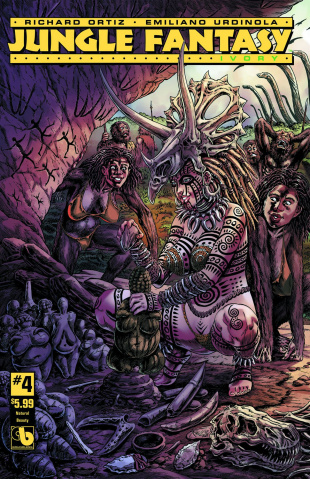 Jungle Fantasy: Ivory #4 (Natural Beauty Cover)