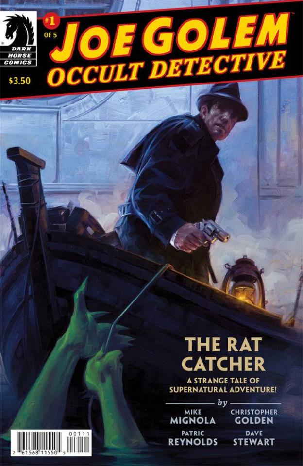 Joe Golem, Occult Detective #1