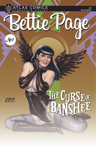 Bettie Page and The Curse of the Banshee #1 (Linsner Signed Atlas Edition)
