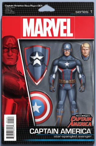 Captain America: Steve Rogers #1 (Action Figure Cover)