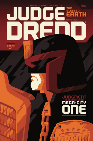 Judge Dredd: The Blessed Earth #4 (Whalen Cover)
