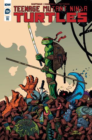 Teenage Mutant Ninja Turtles #104 (10 Copy Garing Cover)