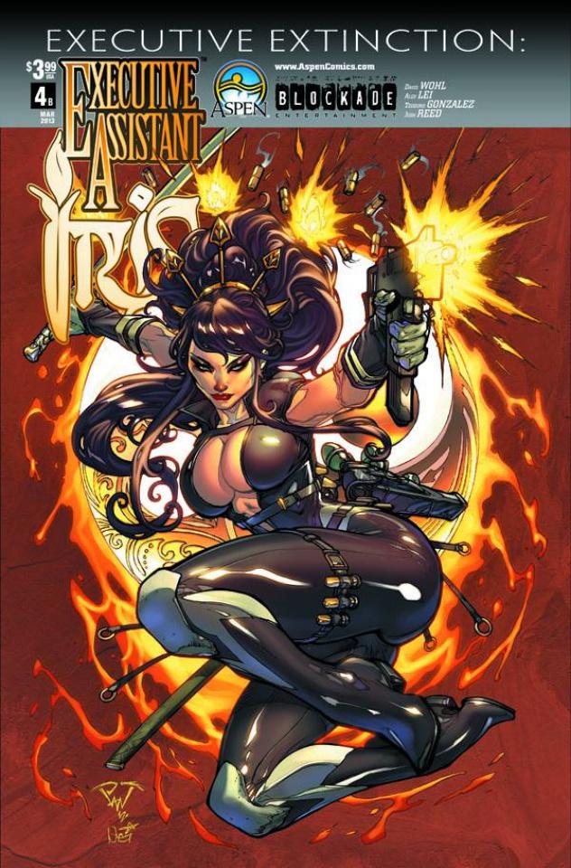 Executive Assistant Iris #4 (Pantalena Cover)
