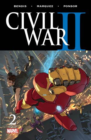 Civil War II #2 (Djurdjevic 2nd Printing)