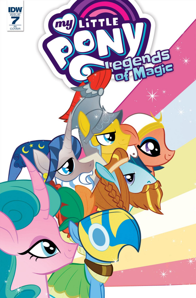 My Little Pony: Legends of Magic #7 (10 Copy Cover)