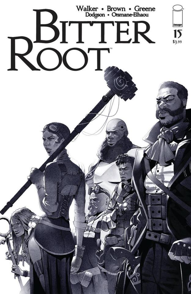 Bitter Root #15 (Greene Cover)
