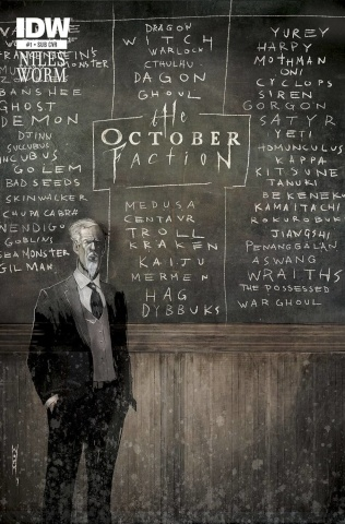 The October Faction #1 (Subscription Cover)