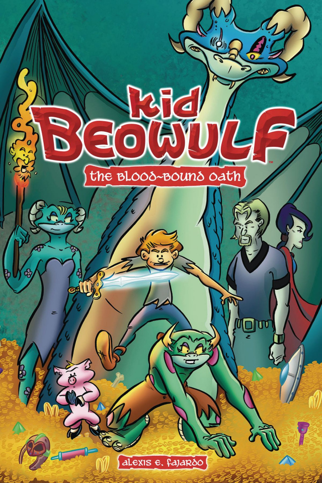 Kid Beowulf Vol. 1: The Blood Bound Oath