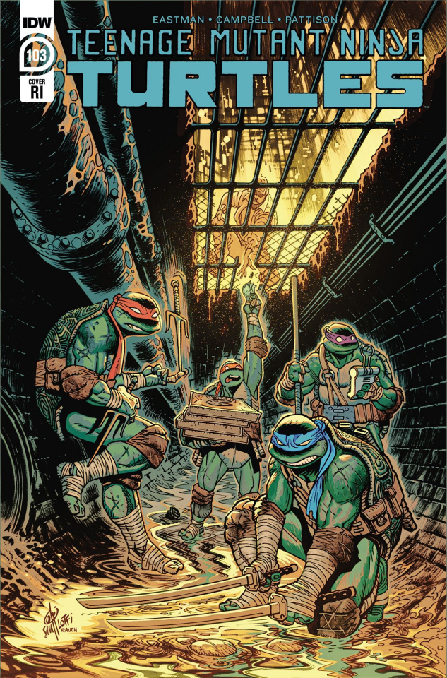 Teenage Mutant Ninja Turtles #103 (10 Copy Lofti Cover)