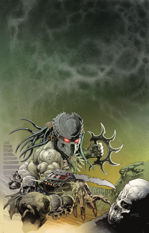 Predator: Hunters III #1 (Brase Glow in the Dark Cover)
