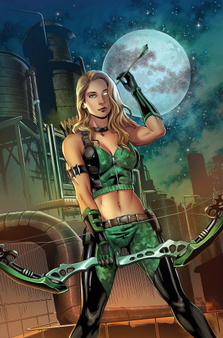 Robyn Hood: Justice #3 (Otero Cover)