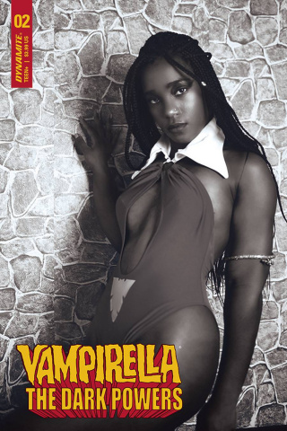 Vampirella: The Dark Powers #2 (15 Copy Cosplay B&W Cover)