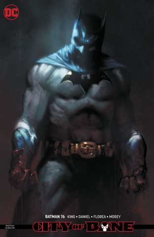 Batman #76 (Card Stock Dark Gifts Cover)