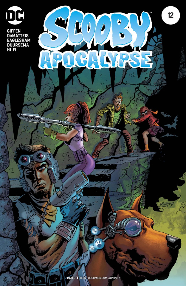 Scooby: Apocalypse #12 (Variant Cover)