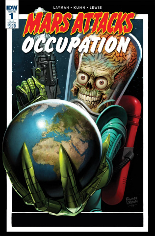 Mars Attacks: Occupation #1 (Subscription Cover)