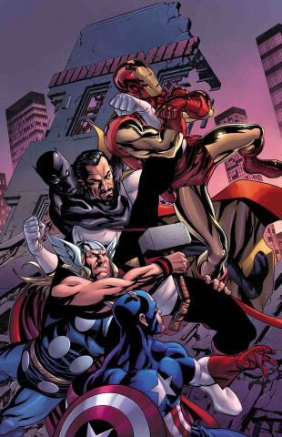Avengers #23 (McKone Cover)