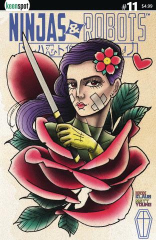Ninjas & Robots #11 (Matt Miller Cover)