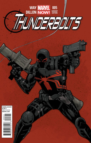 Thunderbolts #5 (Tan Cover)