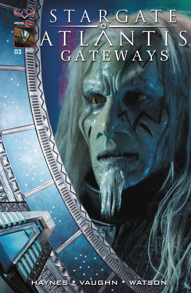 Stargate Atlantis: Gateways #3 (Todd the Wraith Photo Cover)