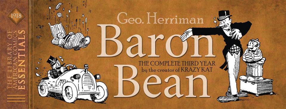 The Library of American Comics Essentials Vol. 12: Baron Bean - 1918
