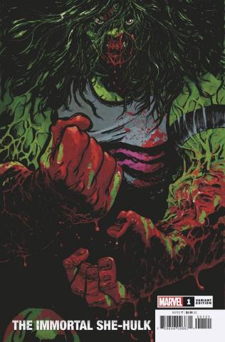 The Immortal She-Hulk #1 (Johnson Cover)