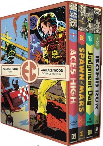 EC Comics: Four Vol. 3 (Slipcase Edition)