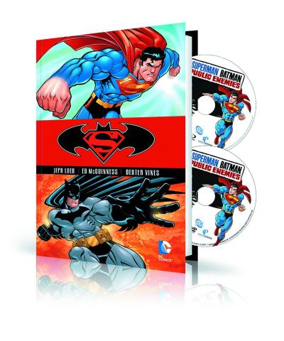 Superman / Batman Vol. 1: Book & DVD/Blu-Ray Set