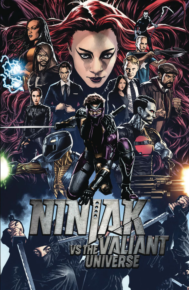 Ninjak vs. The Valiant Universe #1 (Suayan Cover)