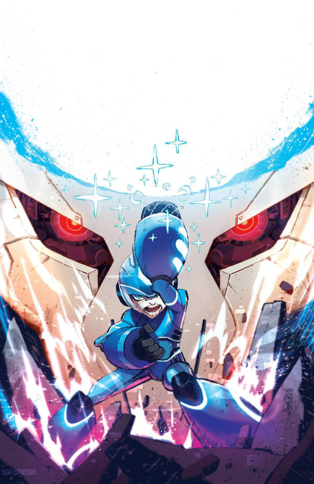 Mega Man: Fully Charged #6 (Corona Cover)