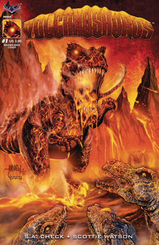 Volcanosaurus #1 (Check Signed Cover)