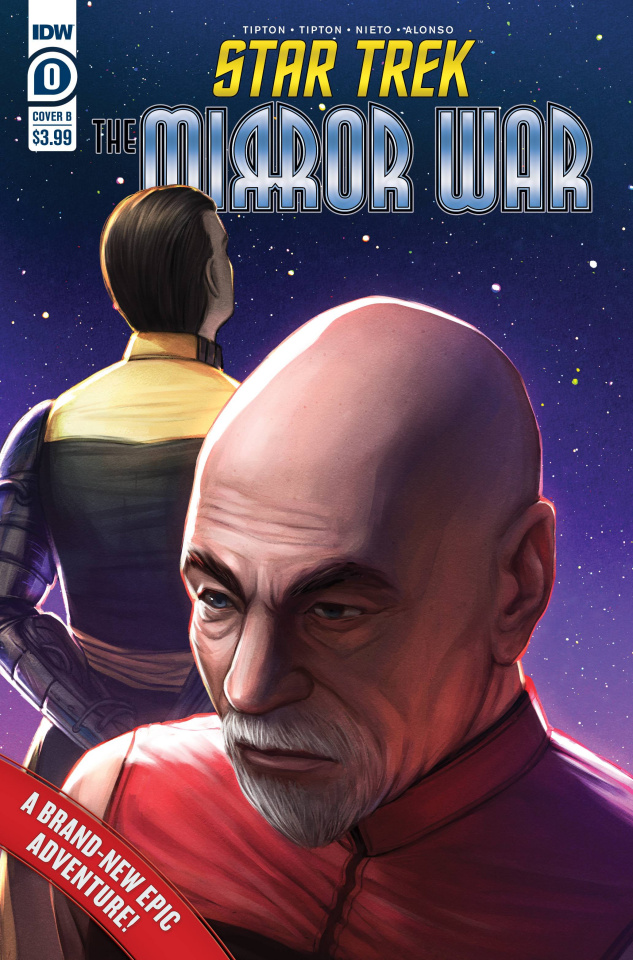 Star Trek: The Mirror War #0 (Ebenebe Cover)