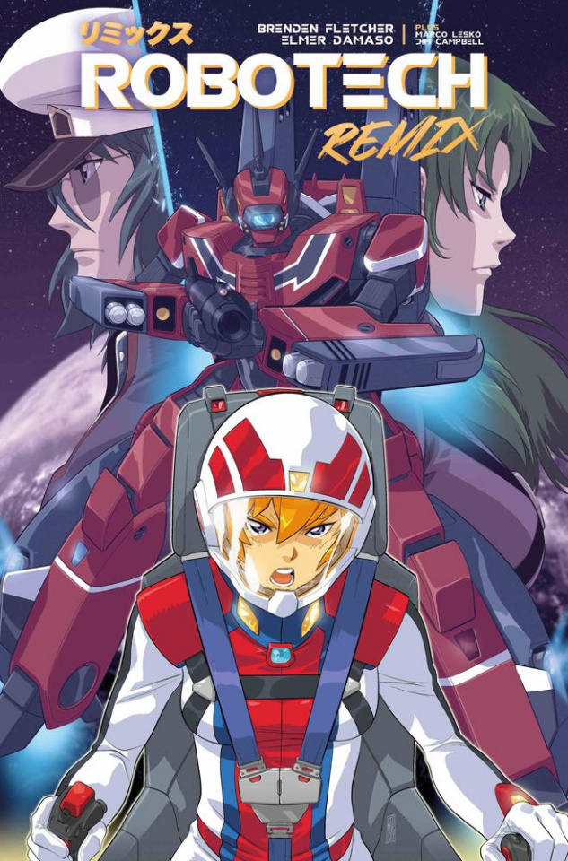Robotech: Remix #1 (Damaso Cover)