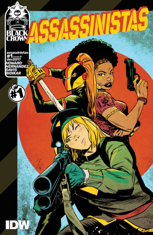 Assassinistas #1 (Greene Cover)