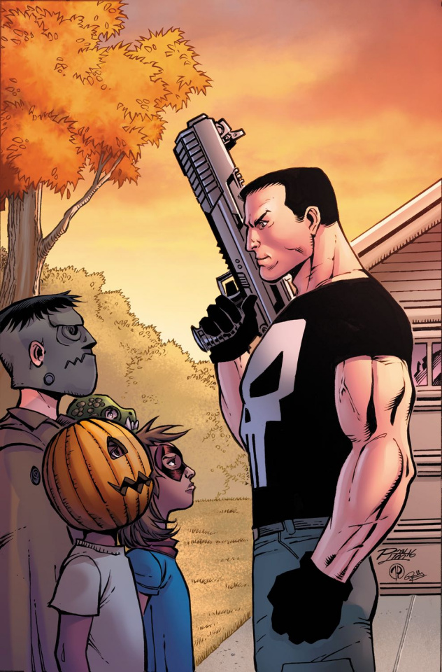 The Punisher Annual #1 (Lim Cover)