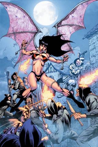 Vengeance of Vampirella #8 (Castro Virgin Bonus Cover)