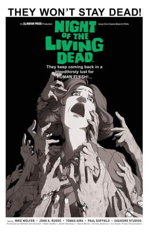 Night of the Living Dead #1 (Classic Cover)