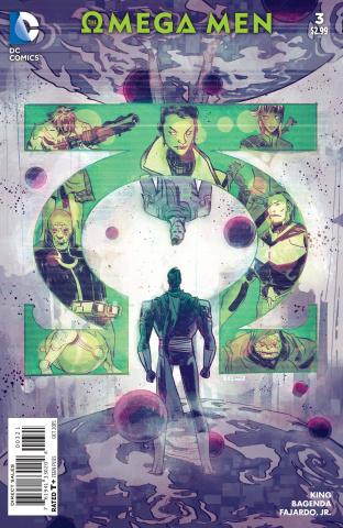 The Omega Men #3 (Variant Cover)