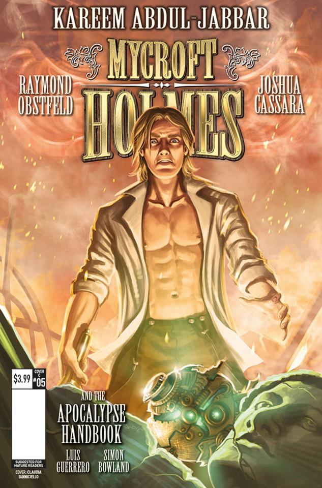Mycroft Holmes #5 (Ianniciello Cover)