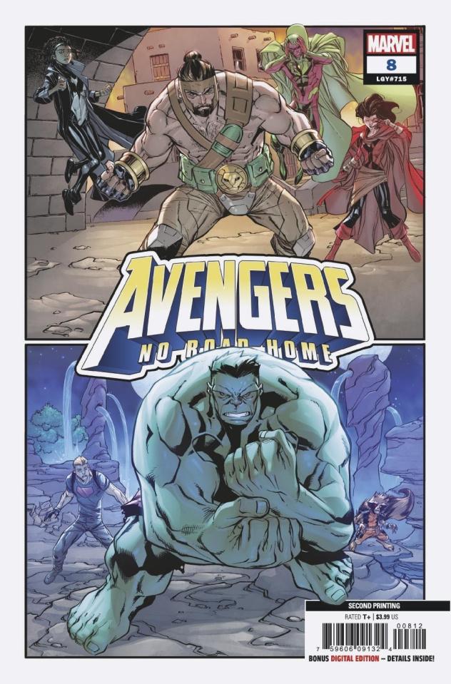 Avengers: No Road Home #8 (Barberi 2nd Printing)