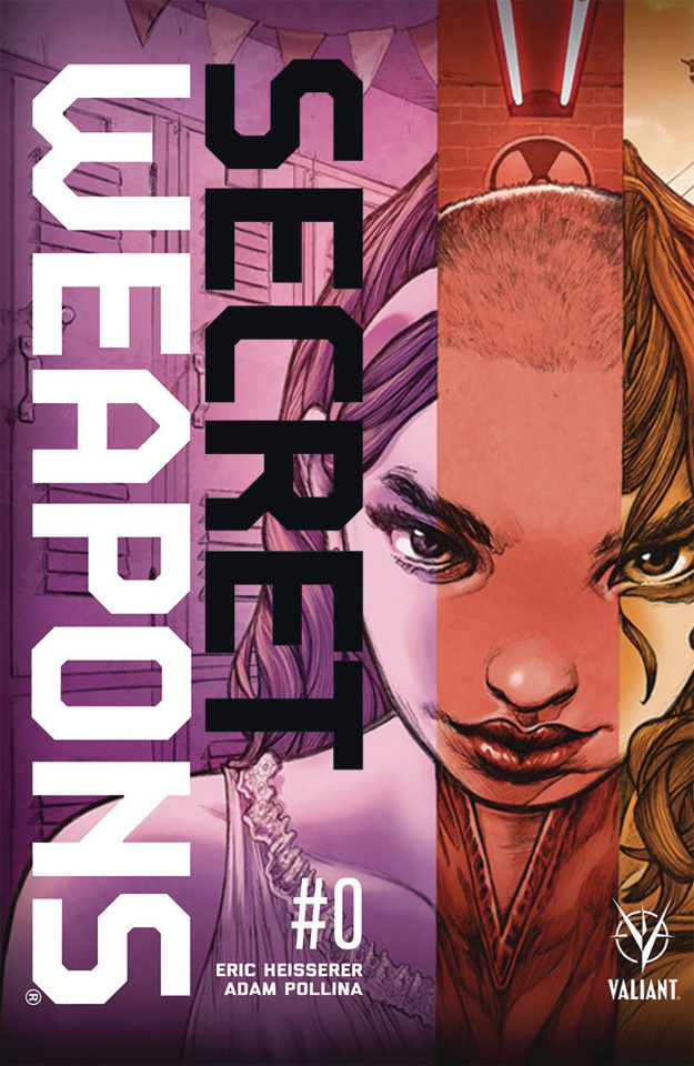 Secret Weapons #0 (50 Copy Pollina Cover)